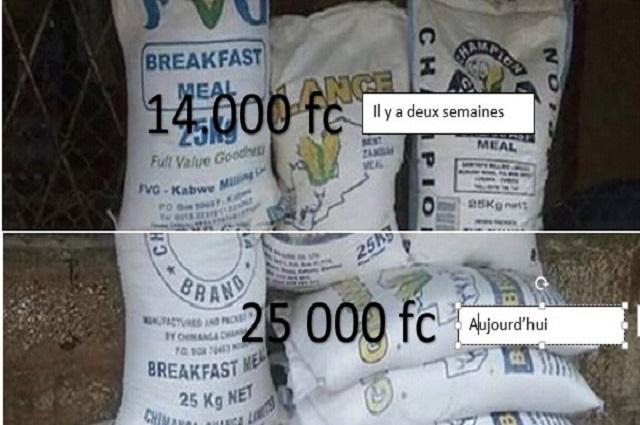 RDC: hausse du prix de la farine à Lubumbashi et Kasumbalesa, plusieurs raisons sont évoquées