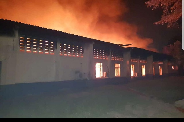 Kinshasa: un incendie au collège Boboto