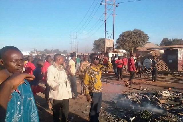 Lubumbashi: vive tension entre la police et la population  dans la commune katuba