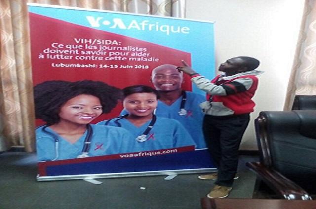 Lubumbashi: des journalistes formés  sur des questions en lien avec le VIH/Sida