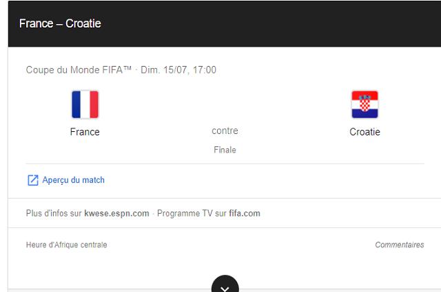 Mondial 2018 : France – Croatie, une finale inattendue