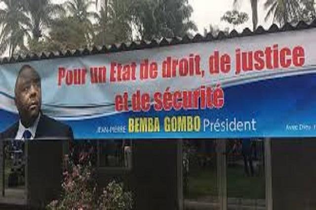 Lubumbashi : invalidation candidature Bemba, le MLC haut-Katanga dénonce l'instrumentalisation de la Ceni