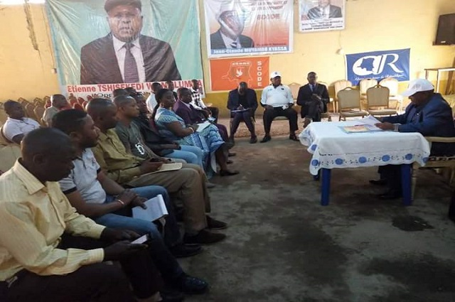 Lubumbashi : la plateforme Ensemble pour le changement en meeting ce samedi 18 août