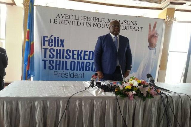 RDC: Felix Tshisekedi promet d'amener la croissance économique  à 25 %  et de mobiliser  86 milliards de dollars americains