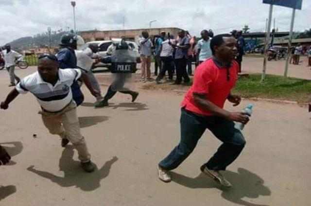 Lubumbashi : la société civile dresse un bilan de 4 blessés lors des manifestations de ce lundi
