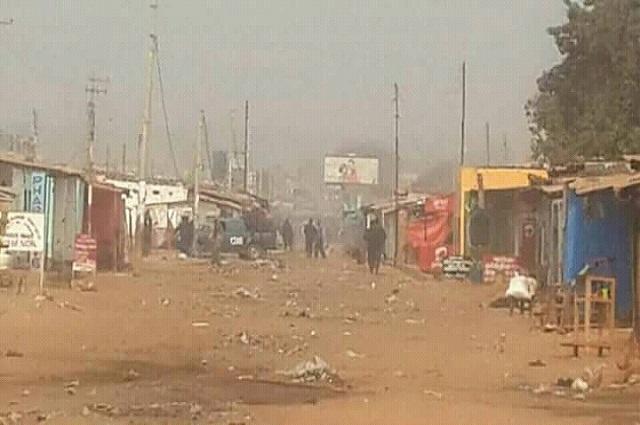 RDC : vive la tension à Kasumbalesa ce matin entre la police et la population