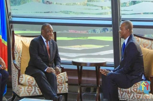 RDC: face à face Ramaphosa- Shadary, l'UDPS s'inquiète et proteste