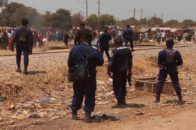 Lubumbashi: arrestation du policier qui avait tiré sur Medard Kalala lors des échauffourées le mardi 14 janvier à Kilobelobe