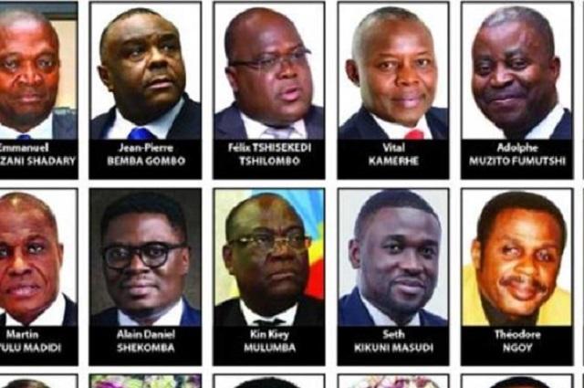 RDC : ces candidats et les chiffres qui nous font rêver !