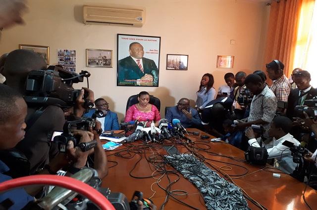 RDC: le MLC qualifie  d'imposture de mauvais gout l'invalidation de Bemba et compte  sur l'unité de l'opposition