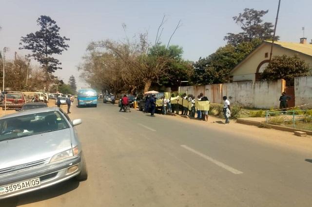 Lubumbashi: malgré la répression, la Lucha réussi à déposer son mémorandum à la CENI