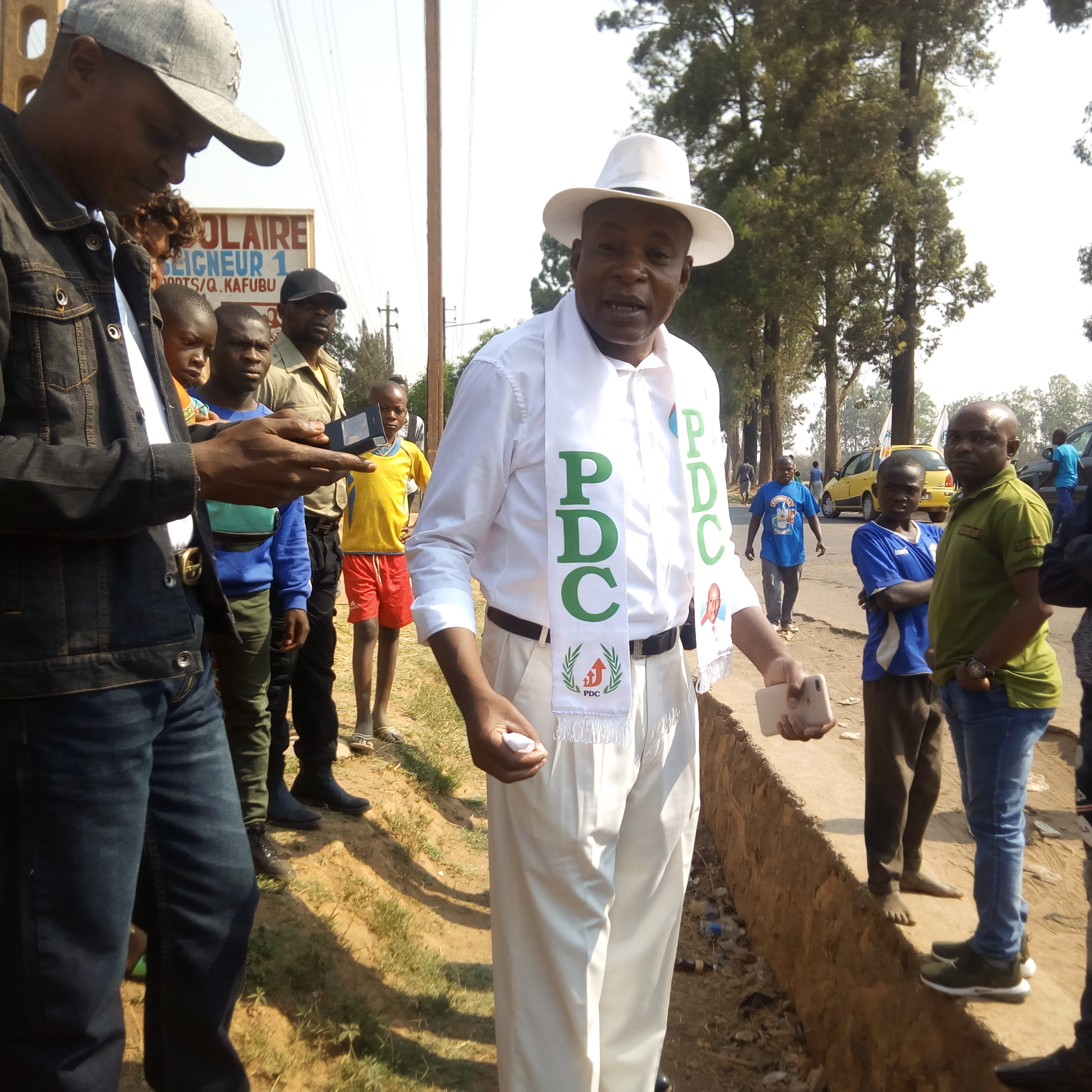 RDC: Meeting de l'opposition réprimé et l'écran géant destiné à la manifestation saisie par la police