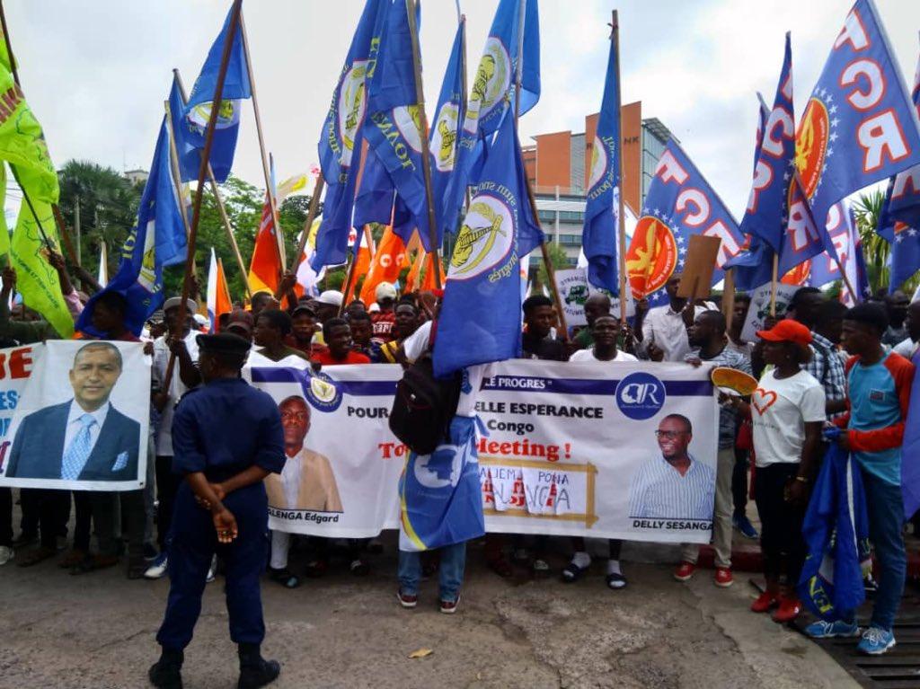 Kinshasa: Kimbuta saisi par l'opposition pour une Marche bien défini