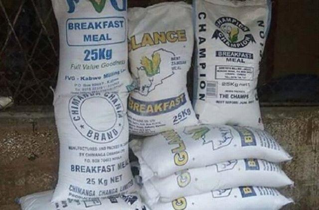 Lubumbashi: le prix de farine de maïs en chute, un sac de 25kg se négocie entre 18 500 et 20 000 fc