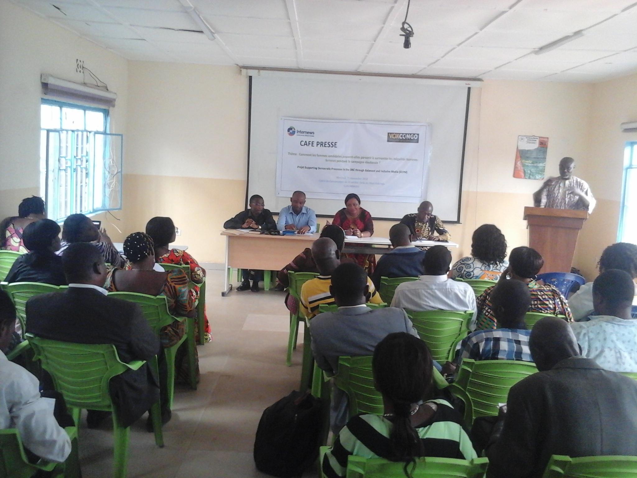 RDC: la femme candidate doit se comporter en véritable manager pendant la campagne électorale