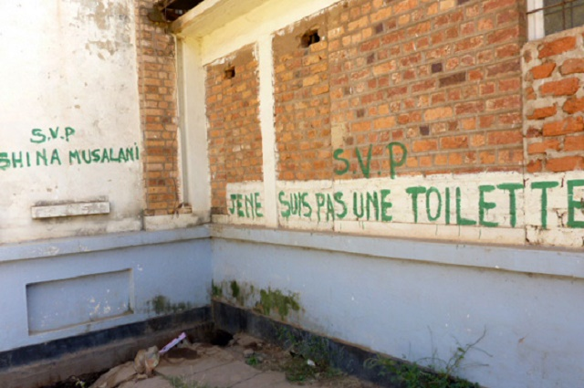 RDC: 12% de la population continue à déféquer en plein air (COMMUNIQUE UNICEF)