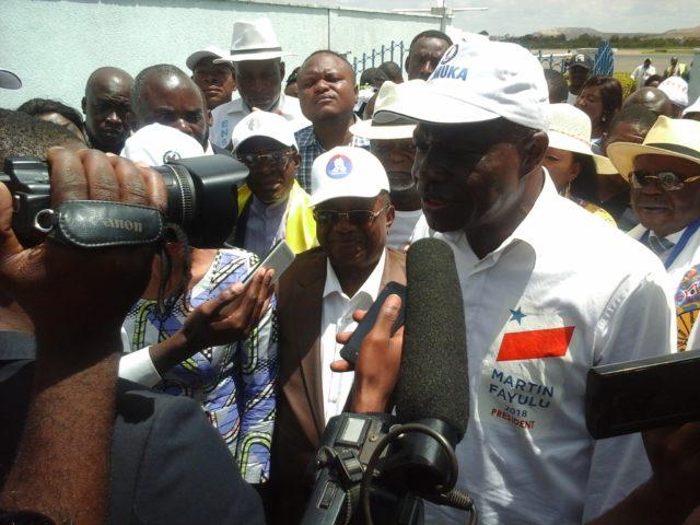 Lubumbashi: «J'aurais voulu que Moïse Katumbi  soit là avec moi» Martin Fayulu