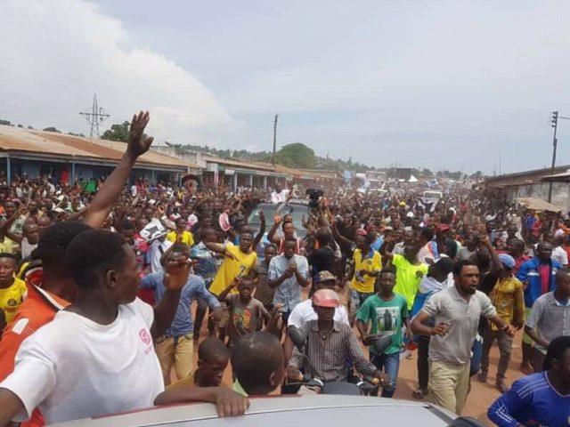 Kalemie: Fayulu un meeting sous haute tension
