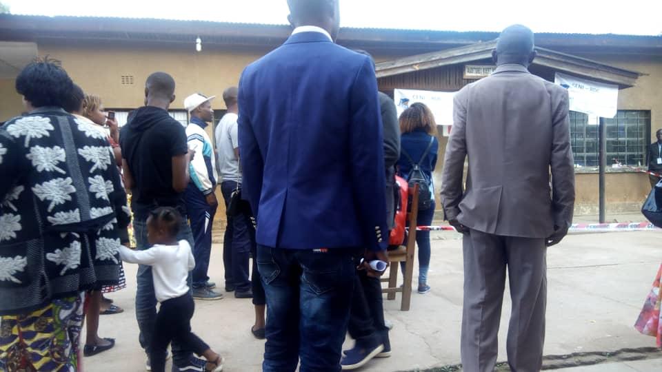 Kolwezi:  électeurs  , observateurs et témoins présents dés 7h 00