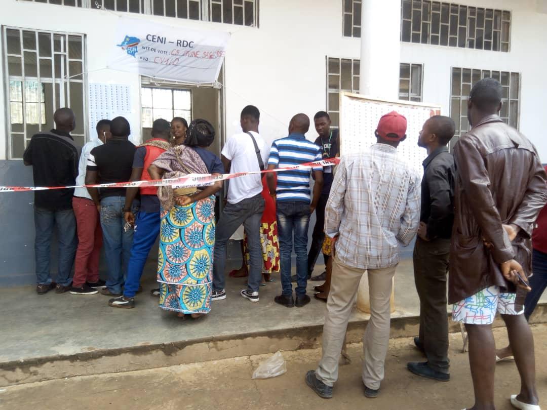 Lubumbashi: certains électeurs ont du mal à retrouver leurs noms sur des listes