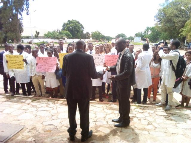 Lubumbashi-UNILU: Affaire Ferme Naviundu, les étudiants exigent aux autorités les démolitions