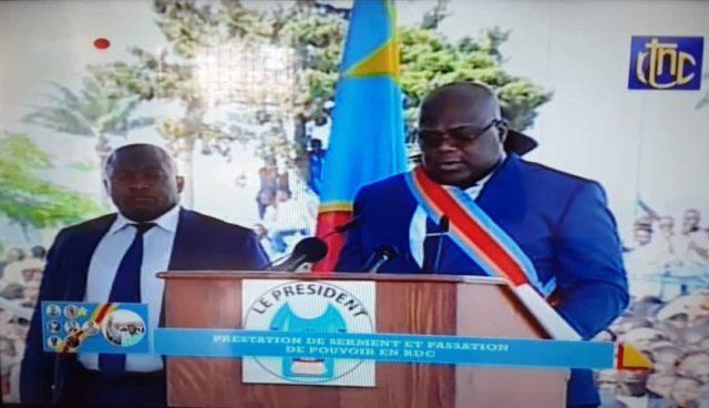 RDC : Felix Tshisekedi cinquième président  promet la lutte contre la corruption