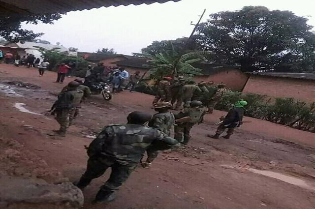 Likasi: 9 blessés dans les échauffourées entre militaire, et dépendants de la SNCC