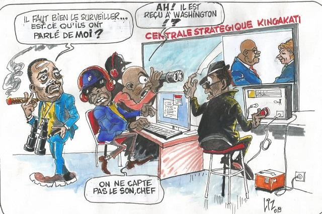 RDC-USA : visite de Tshisekedi à Washington, les radars de Kingakati  en éveil
