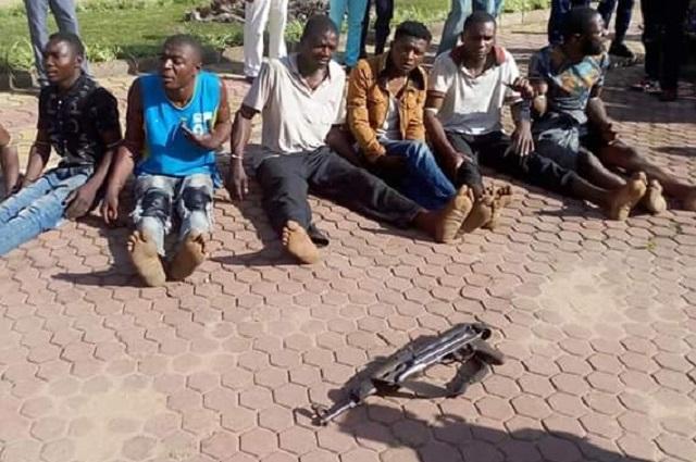 Lubumbashi: 10 bandits dont des policiers et des militaires déserteurs arrêtés