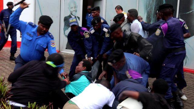 Goma: Victime de la violence policiere , la Lucha s'interroge sur l' Etat de droit en RDC