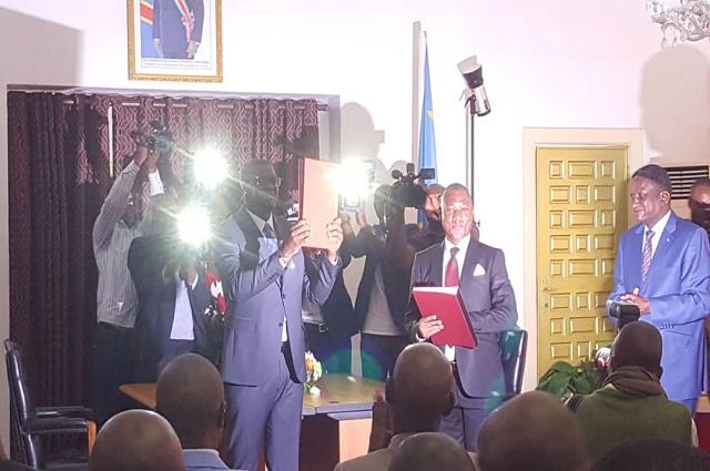 Haut- Katanga : Jacques Kyabula prend ses fonctions
