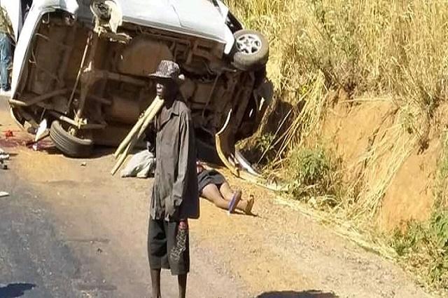 Likasi: 10 personnes d'une même famille trouvent la mort dans un accident