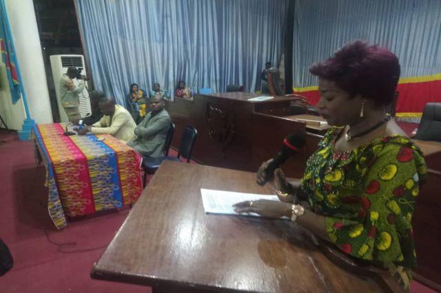 Lubumbashi : Aimée Manyong plaide pour la production d'un édit qui renforce la Parité