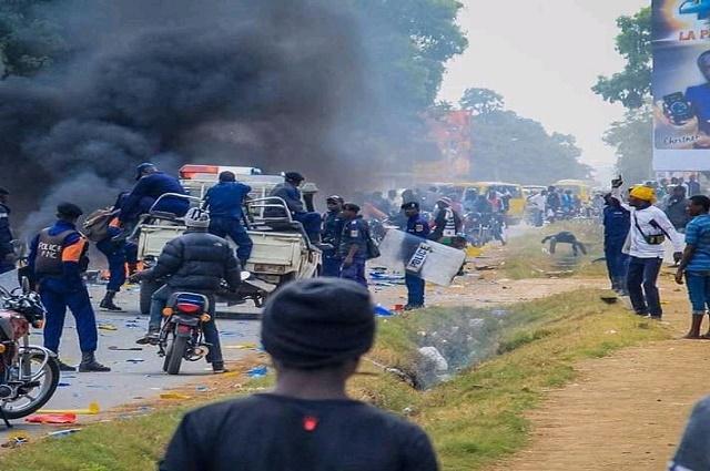Lubumbashi: situation tendue aux alentours du siège du PPRD