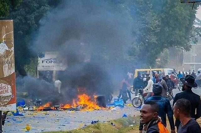 Lubumbashi: Une ONG exige à la justice d'ouvrir une enquête sur l'incendie du siège de PPRD