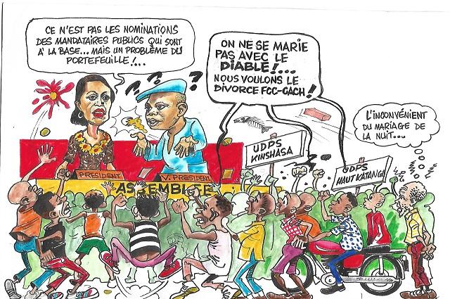 RDC :l'actualité vu par Mbongo Liz