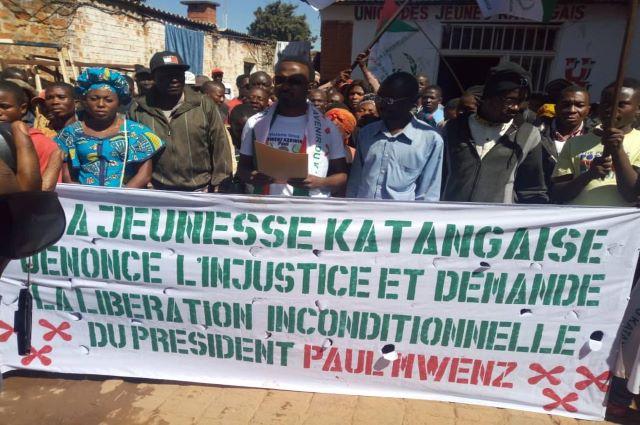 Lubumbashi:UJK dénonce l'arrestation de son Président National Paul Mwenz Kabuit