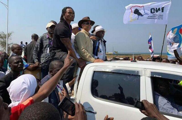 Tanganyika: Moïse Katumbi est arrivé à Kalemie dans une forte chaleur