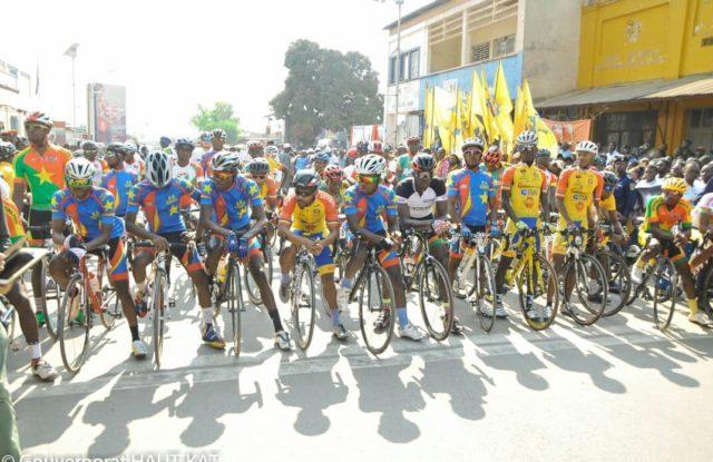 Cyclisme RDC:  le congolais Loïc Chyiana  remporte la  3ème place de la 4eme étape Likasi-Lubumbashi