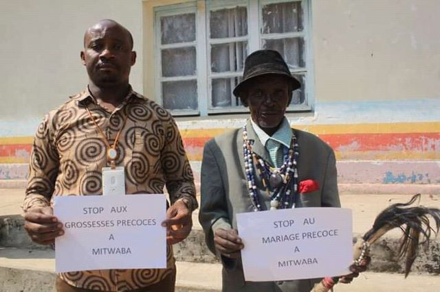 Haut-Katanga: les leaders traditionnels impliqués dans la lutte contre le mariage précoce à Mitwaba