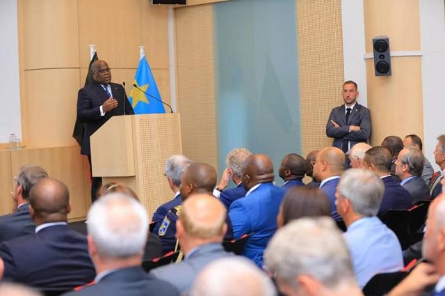 Bruxelles: Felix Tshisekedi annonce la création d'une agence de lutte contre la corruption