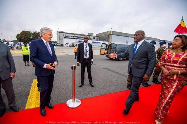 Bruxelles: des mémorandums d'entente signés entre la Belgique et la RDC