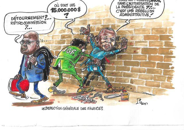 RDC-Affaire 15 millions: Détournements ou Rétrocommission?
