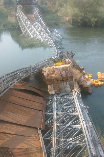 Haut-Lomami- effondrement pont Bukama: la Société Civile invite les autorités à trouver une mesure d'urgence