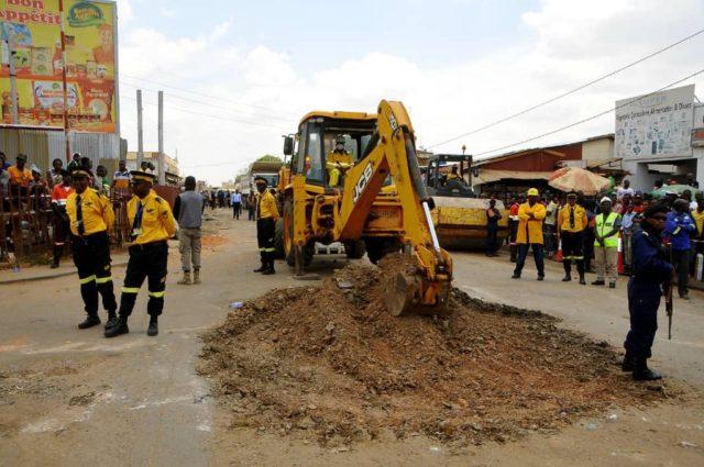 Lubumbashi: les travaux de réhabilitation de l'avenue Lumumba lancés par Kyabula n'était q'une illusion