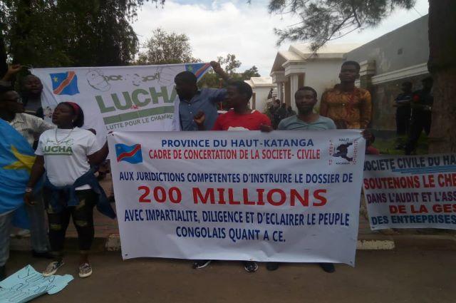 Lubumbashi: la société civile porte plainte contre les policiers et militaires affectés au gouvernorat pour non-assistance à personne en danger