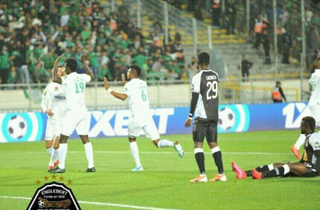 Caf: tourment chez  TP Mazembe neutralisé 0-2 par Raja Club de Casablanca