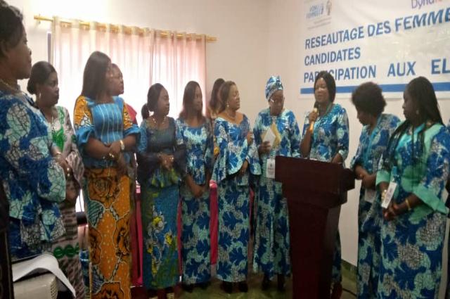 Lubumbashi : les femmes affutent leurs armes pour les échéances de 2020, Dynafec installe ses membres
