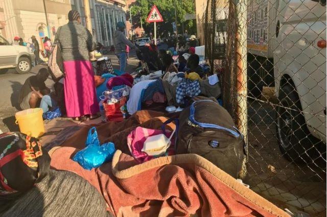 RDC-RSA: les réfugiés de Cap-Town dans une précarité et exposés au COVID19 [Charlie Mingiendi]