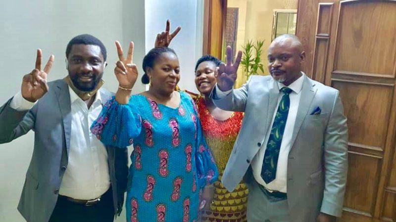 Conflit-AFDC-A: Nene Nkulu et ses proches fêtent la victoire après l'arrêt de la cour constitutionnelle